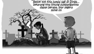 pemberkata jenazah dan pemakaman